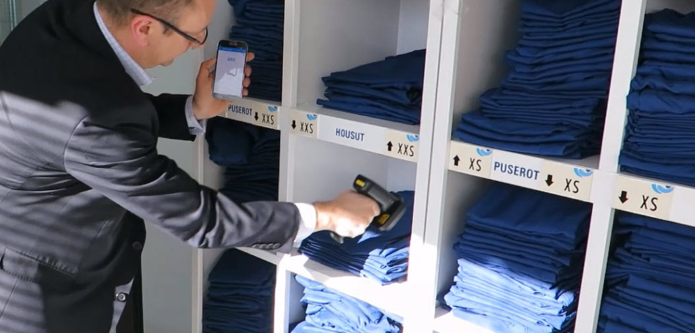 Android UHF RFID Garment Inventory Check